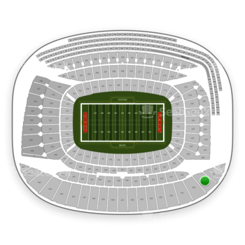 Chicago Bears at Soldier Field Section 429 View