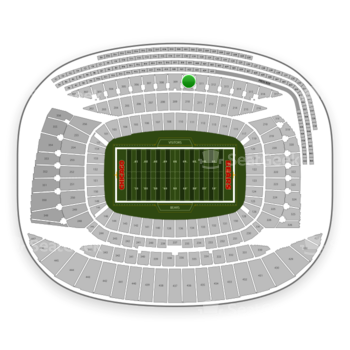 Chicago Bears at Soldier Field Section 310 View