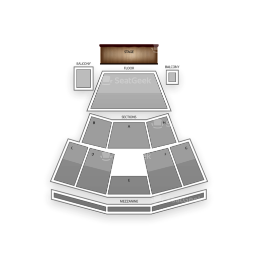 Peppermill Concert Hall Seating Chart