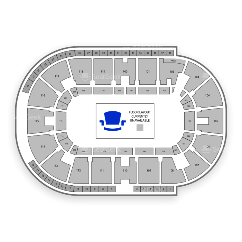 Coca-Cola Coliseum Seating Chart Concert