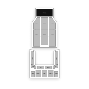 Thalia Mara Hall Seating Chart Theater