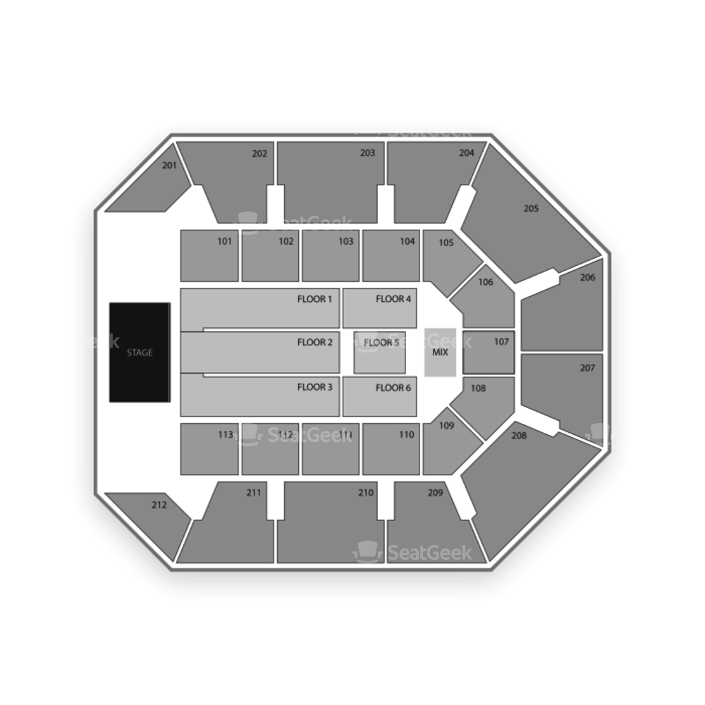 Star of the Desert Arena Seating Chart Concert
