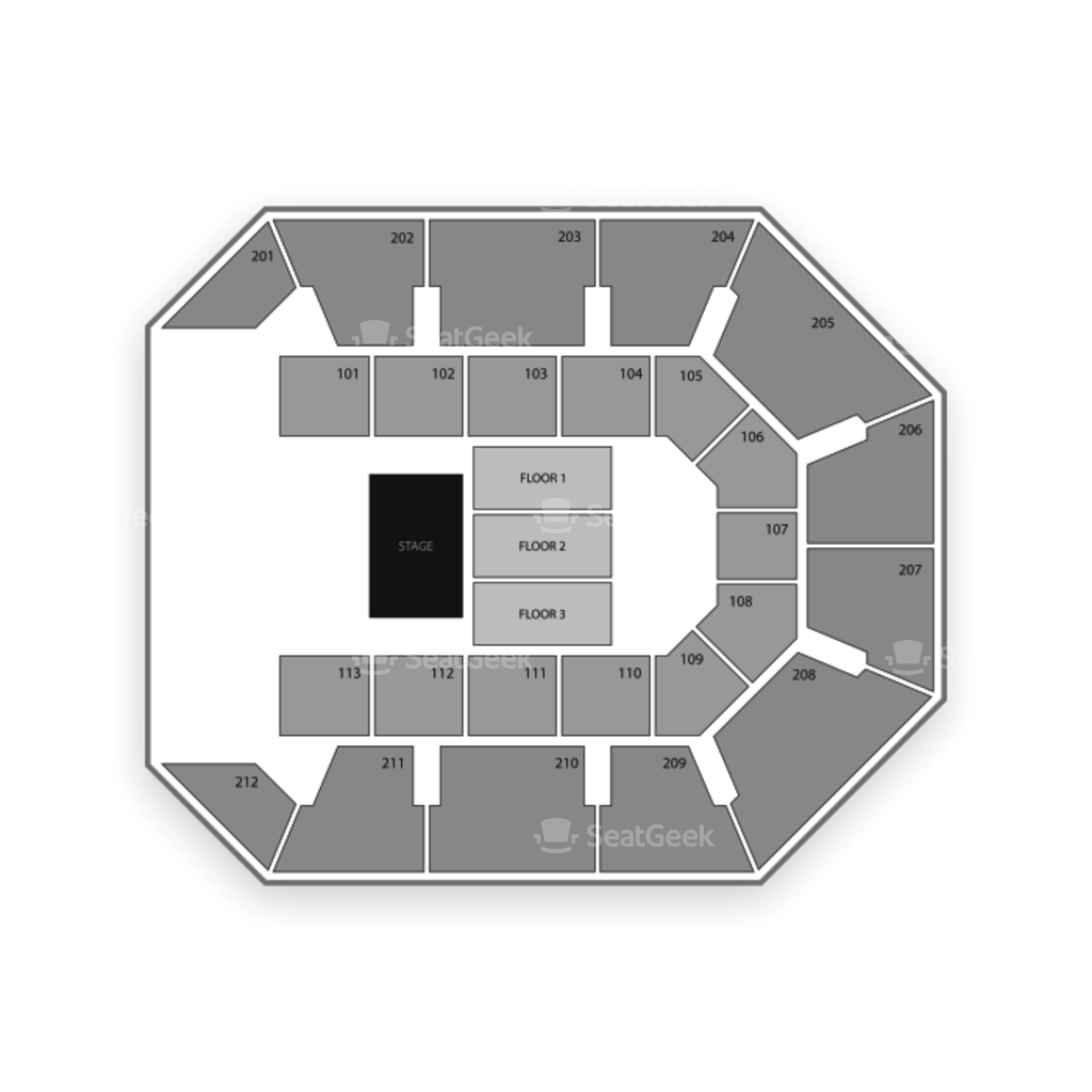 Star Of The Desert Arena Seating Chart Seatgeek