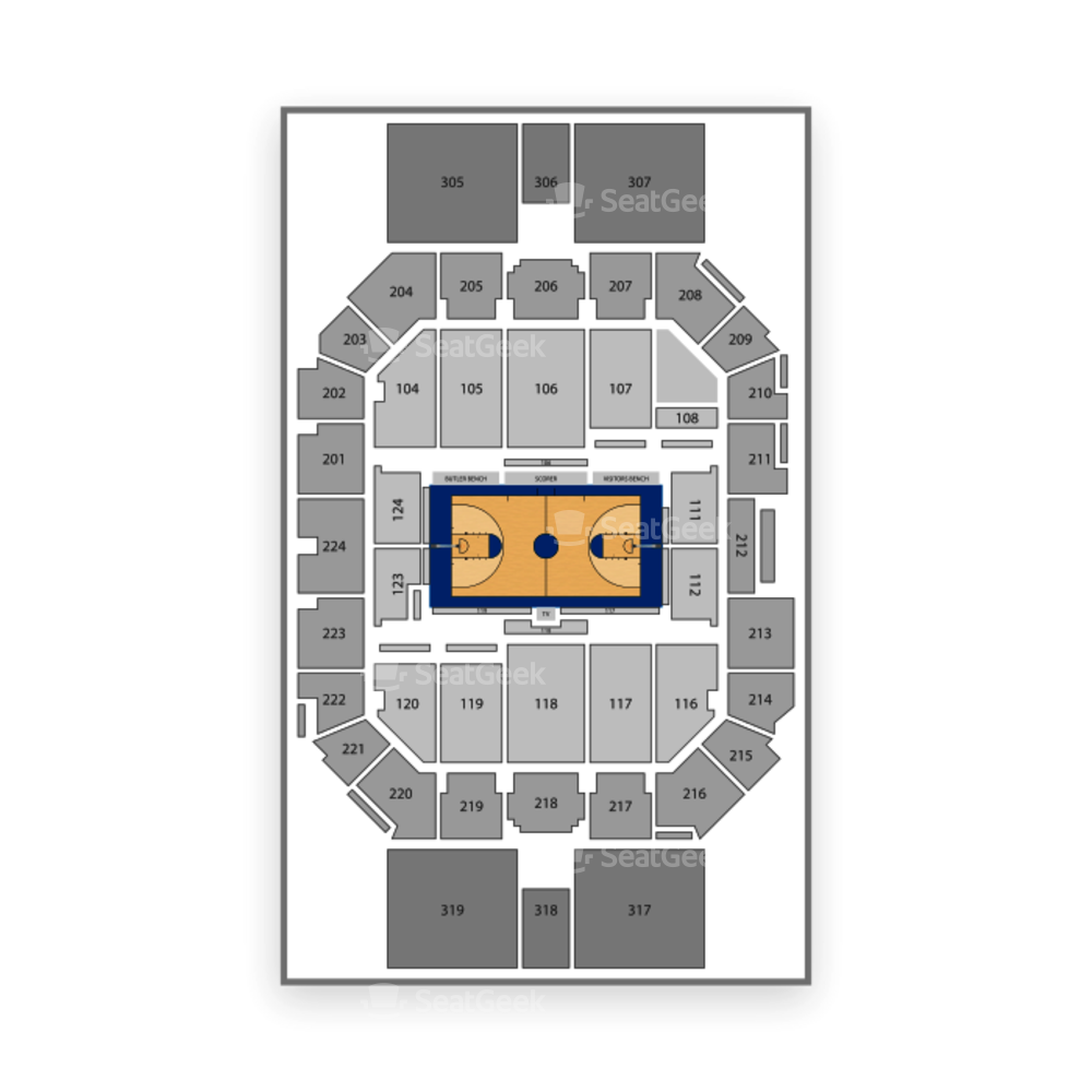 Butler Bulldogs Basketball Seating Chart