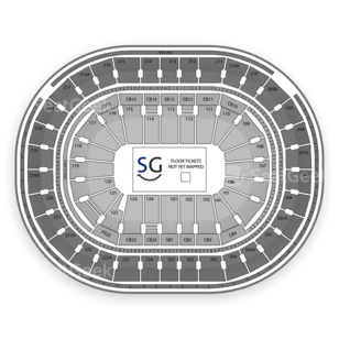 Wells Fargo Center Seating Chart Wrestling