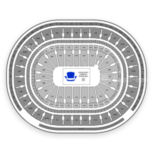 Wells Fargo Center Seating Chart Football