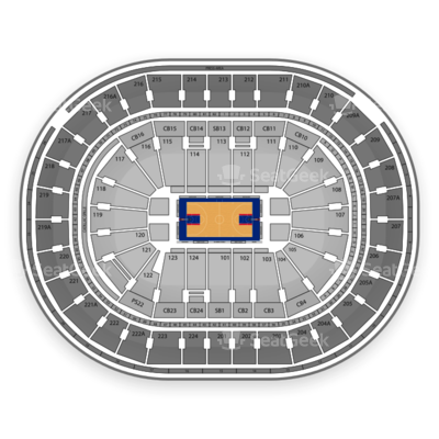 Wells Fargo Center seating chart Philadelphia 76ers