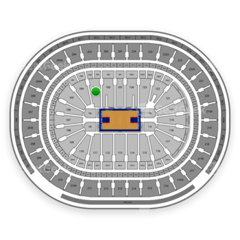 Philadelphia 76ers at Wells Fargo Center Section 103 View