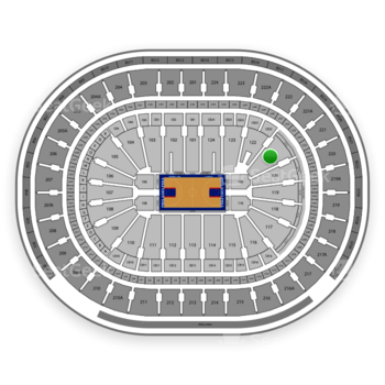 Philadelphia 76ers at Wells Fargo Center Section 121 View