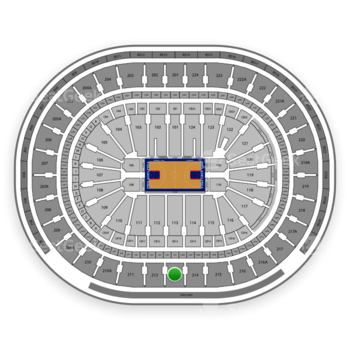 Philadelphia 76ers at Wells Fargo Center Section 213 View