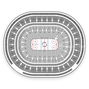 Wells Fargo Center Seating Chart NHL