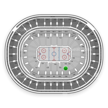 NHL at Wells Fargo Center Section 103 View