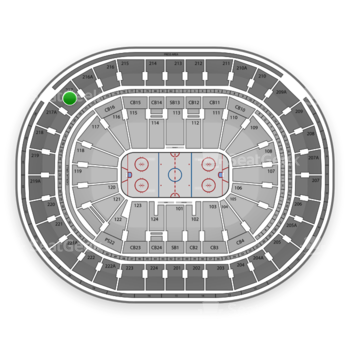 NHL at Wells Fargo Center Section 217 View
