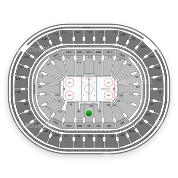 NHL at Wells Fargo Center Section 101 View