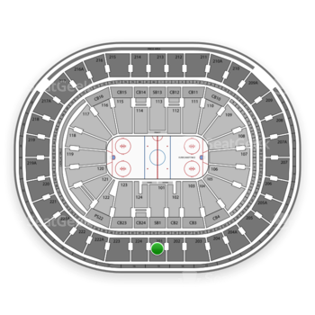 NHL at Wells Fargo Center Section 201 View