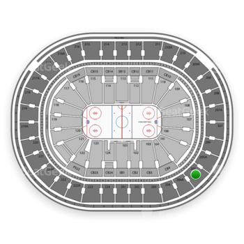 NHL at Wells Fargo Center Section 205 View