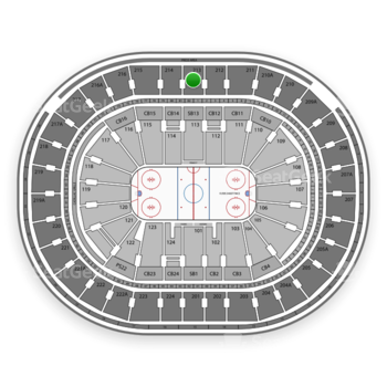NHL at Wells Fargo Center Section 213 View