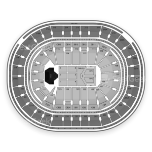 Wells Fargo Center Seating Chart Concert