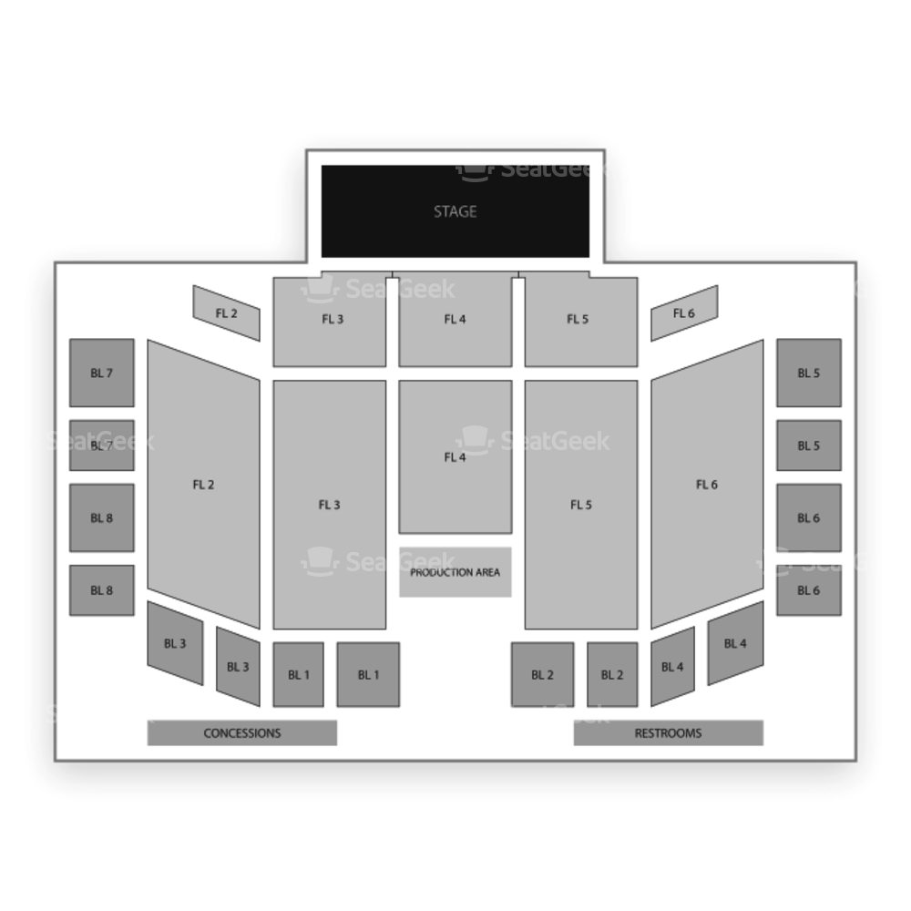 Grand Casino Hinckley Event Center Seating Chart Concert