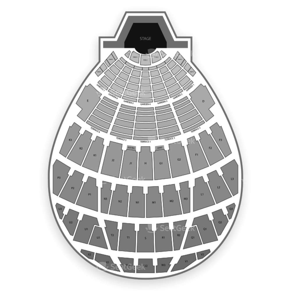 Hollywood Bowl Seating Chart Parking