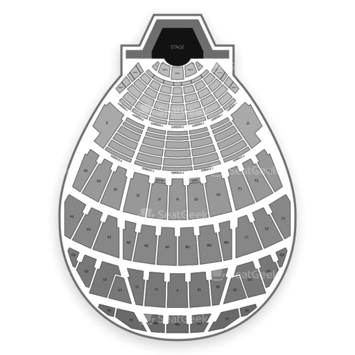 Hollywood Bowl Seating Chart Seatgeek