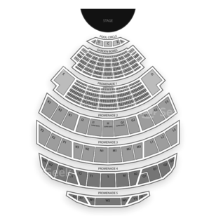 Hollywood Bowl Seating Chart Theater
