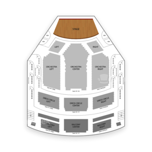 Lyric Theatre Seating Chart Classical Opera