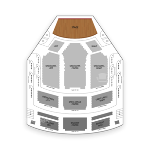 Lyric Theatre Seating Chart Concert