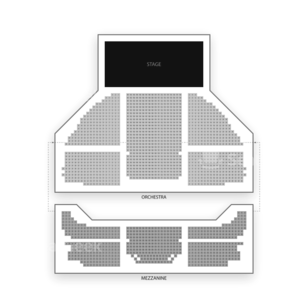 Gershwin Theatre Seating Chart Theater