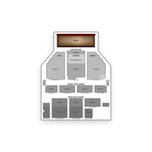 Broadway Theatre Seating Chart Concert