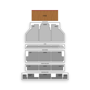 Curran Theatre Seating Chart Concert