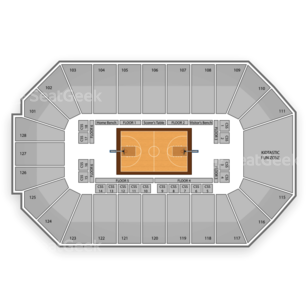 Texas Legends Seating Chart
