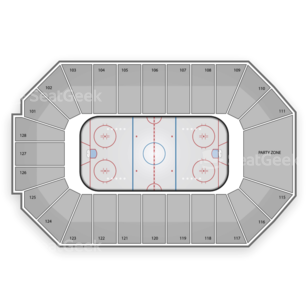 Dr Pepper Arena Seating Chart NHL