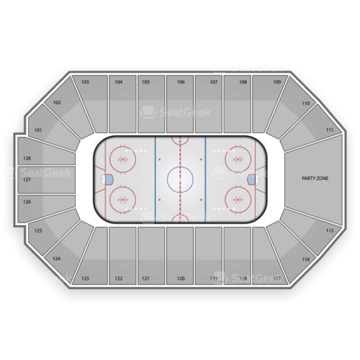Dr Pepper Arena Seating Chart
