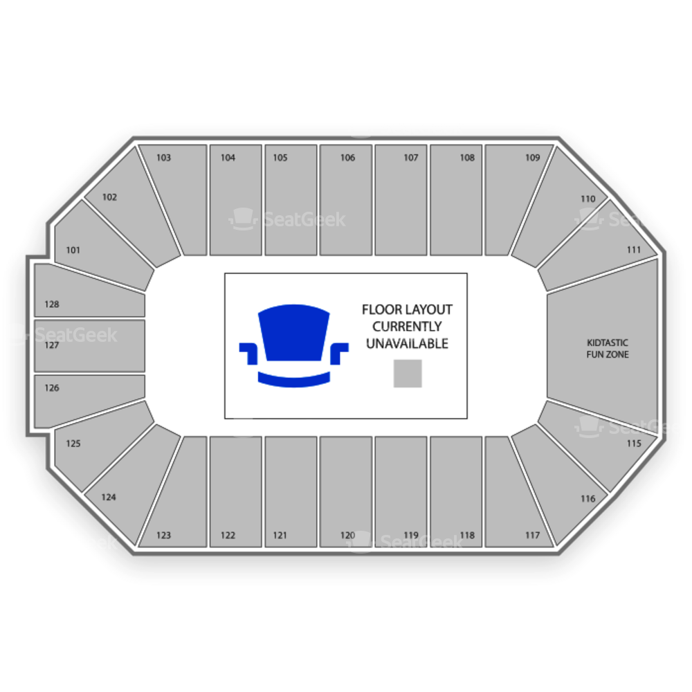 Dr. Pepper Arena Seating Chart Basketball