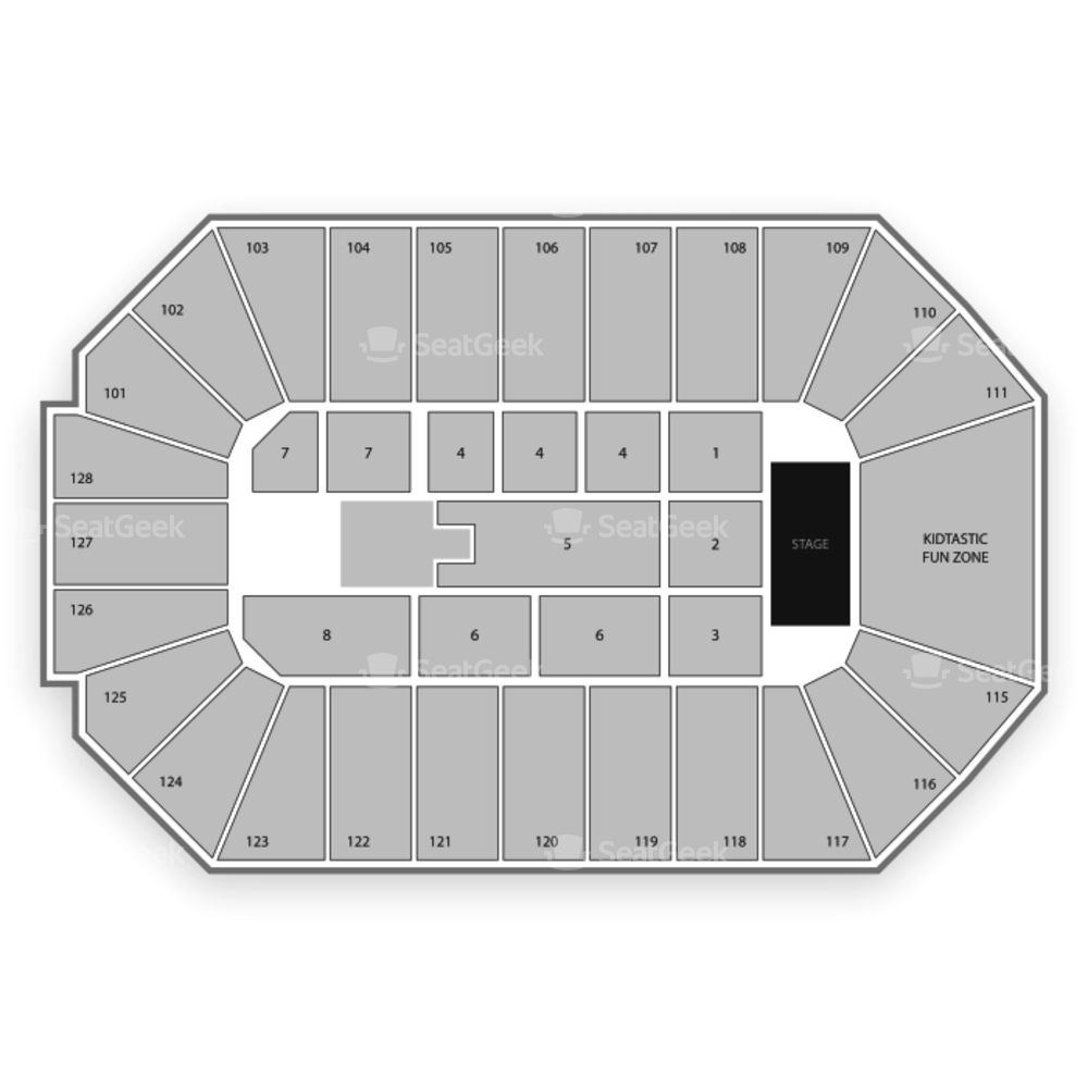 Dr. Pepper Arena Seating Chart Concert