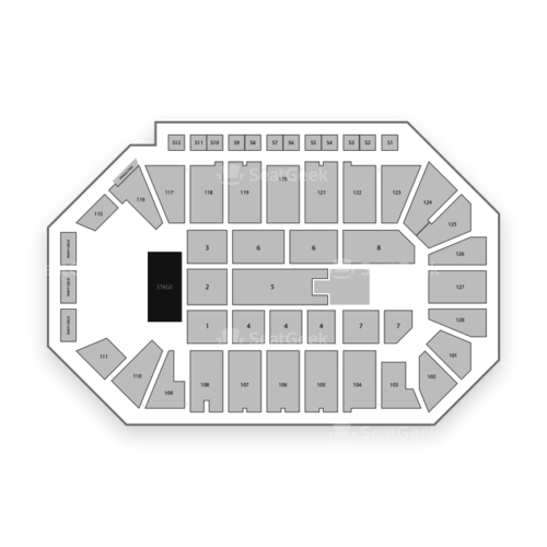 Comerica Center Seating Chart Concert
