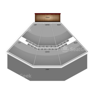 Ravinia Pavilion Seating Chart Theater