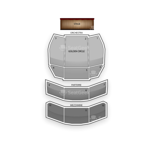 Phantom Theatre - Venetian Hotel & Casino Seating Chart