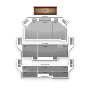 Shubert Theater Seating Chart Classical