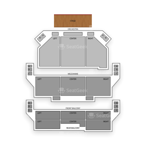 Shubert Theater Seating Chart Concert
