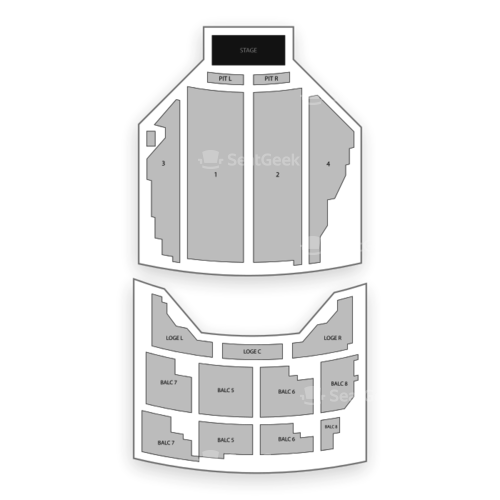 State Theatre Minneapolis Seating Chart Concert