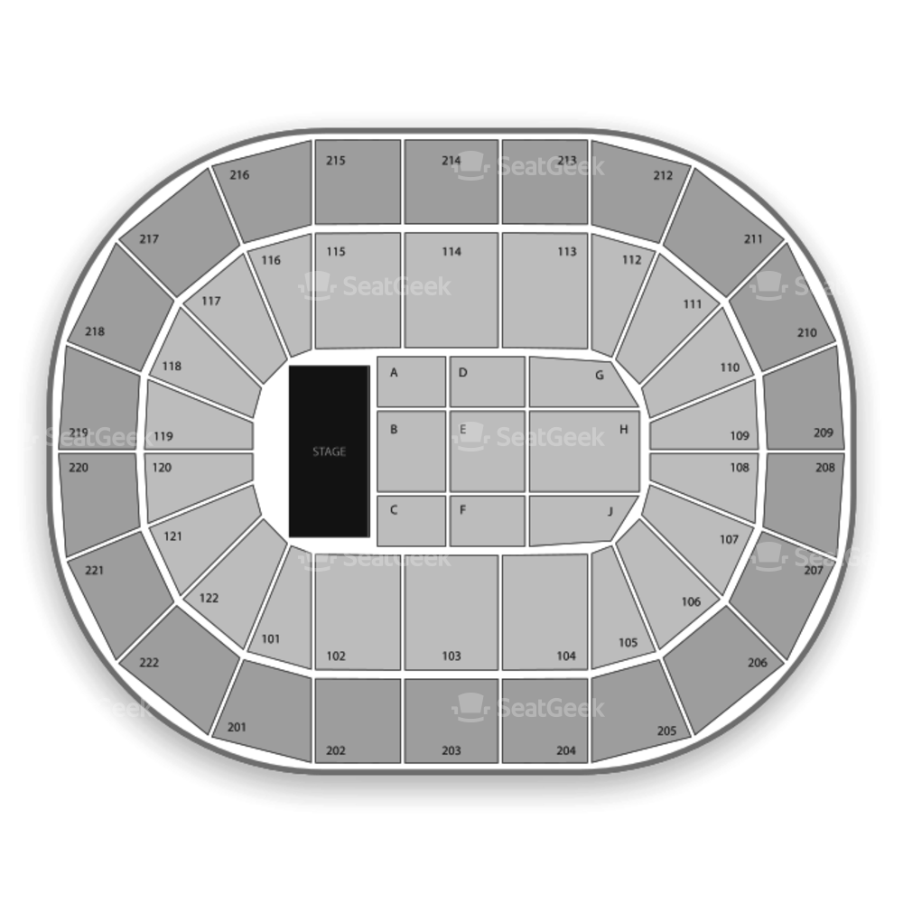 Manchester Arena Seating Chart Concert