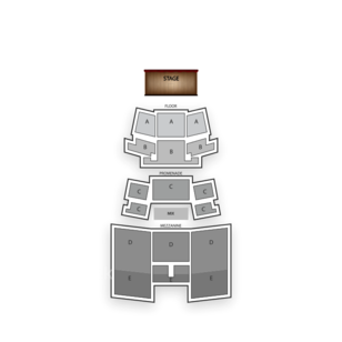 Best Buy Theater Seating Chart Concert