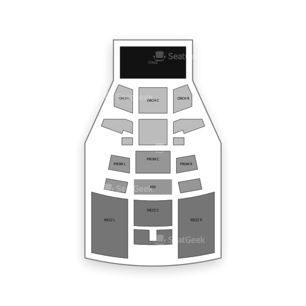 PlayStation Theater Seating Chart Concert