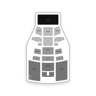 Playstation Theater Seating Chart Theater