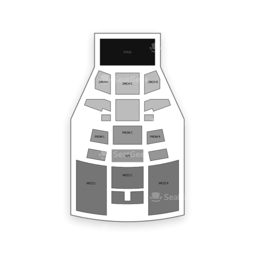 Playstation Theater Seating Chart Seatgeek
