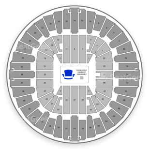 WVU Coliseum Seating Chart Concert