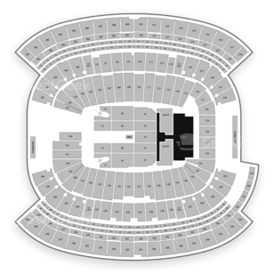 Gillette Stadium Seating Chart Concert