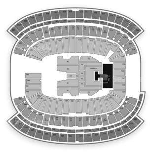Gillette Stadium Seating Chart Music Festival